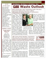 GBB Waste Outlook Newsletter - Fall 2007