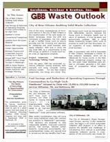 GBB Waste Outlook Newsletter - Fall 2008