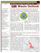 GBB Waste Outlook Newsletter - Fall 2009