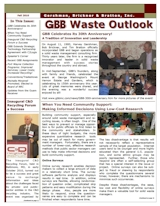 GBB Waste Outlook Newsletter - Fall 2010