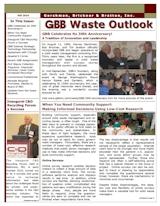 GBB Waste Outlook Newsletter - Fall 2010