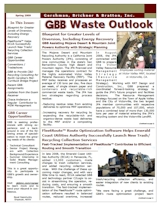 GBB Waste Outlook Newsletter - Spring 2009
