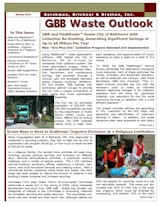 GBB Waste Outlook Newsletter - Spring 2010