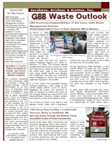 GBB Waste Outlook Newsletter - Summer 2008