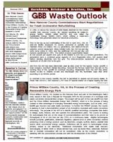 GBB Waste Outlook Newsletter - Fall 2011