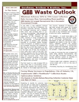 GBB Waste Outlook Newsletter - Winter 2006