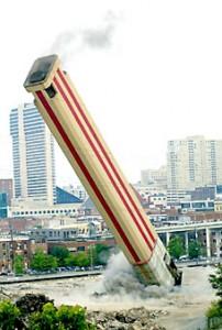 Nashville stack falling