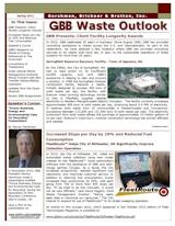 GBB Waste Outlook Newsletter - Spring 2011